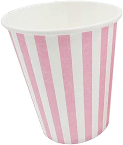 Diseño Simple 50 Taza de Papel desechable Taza de Papel Rosa