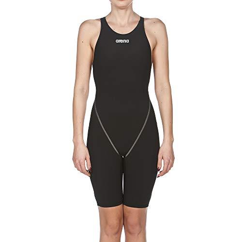 arena Damen Badeanzug Wettkampfanzug Powerskin ST 2.0 (Perfekte Kompression, Minimierter Wasserwiderstand), Black (50), 38