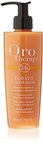 Fanola Oro Therapy Color Mask Dorato Maschera Capelli - 250 Ml