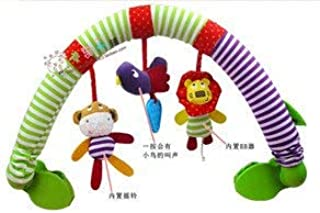 EOFK Stroller/Bed/Crib Hanging Toys for Tots Cots Rattles Seat Cute Plush Stroller Mobile Gifts 88Cm Zebra Rattles40% Off Thing You Must Have 5 Year Old Boy Gifts Toddler Favourite