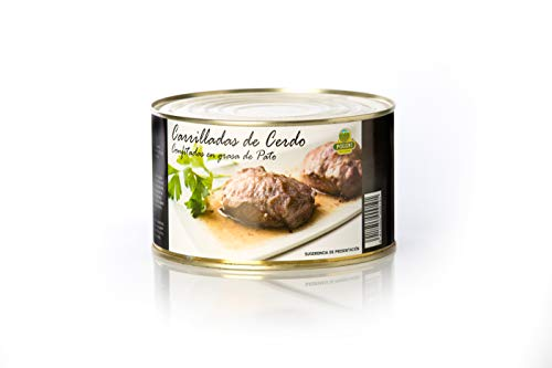 Carrilladas de Cerdo Confitadas en Grasa de Pato Polgri 1350 grs.