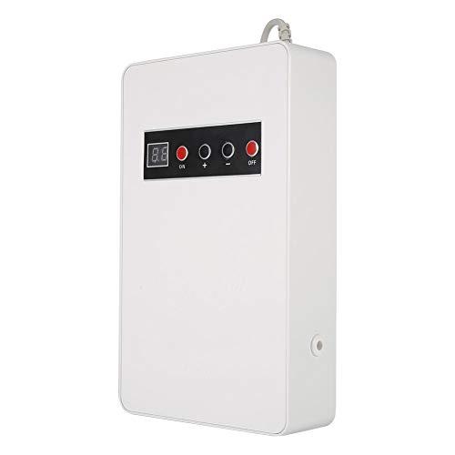 Jingyi Generador de ozono, 220V 50Hz 600mg/h Generador de ozono Ozonizador Agua para el hogar Alimentos Esterilizador de Verduras Purificador de ozono(Blanco)