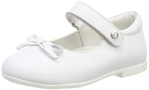 Naturino Mädchen Ballet Riemchenballerinas, Weiß (Bianco 0n01), 21 EU