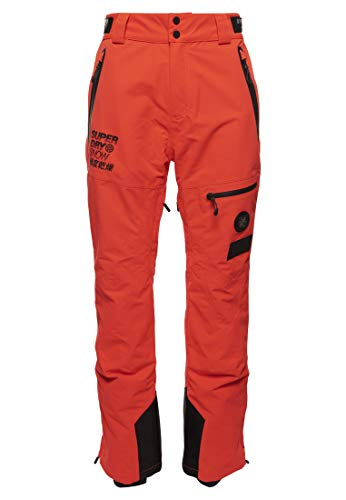 Superdry SD Pro Racer Rescue Hommes Pantalon Ski Orange