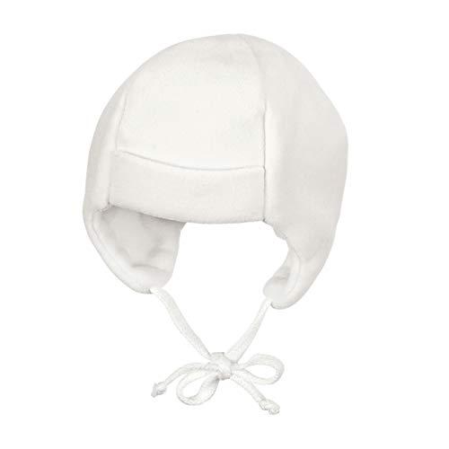 Sterntaler Unisex Baby Mütze Beanie Hat, ecru, 43 EU