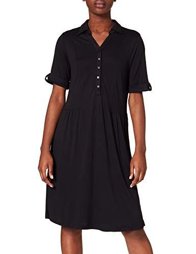 ESPRIT Damen 031EE1E301 Kleid, 001/BLACK, S