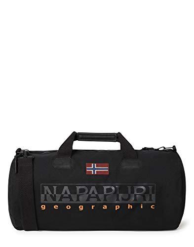Napapijri Bering El - Bolsa de Viaje (60 cm), Color Negro, tamaño 60 cm, Volumen 48.0liters