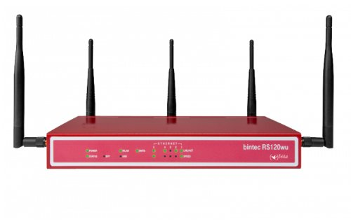 Funkwerk RS120WU Wireless-LAN Router (4X RJ45, UMTS, USB 2.0)