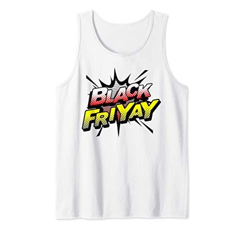 Compras navideñas Black Friyay Divertido regalo de Navidad Camiseta sin Mangas