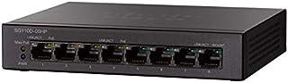 Cisco 8-Port Unmanaged Gigabit Desktop PoE+ Switch - SG110D-08HP-UK