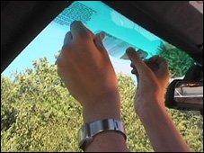 LightInSight Specialized Windshield Lens
