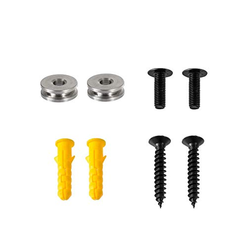 Bracket Hardware Kit for Samsung Wall Mount Screws, Washer, Wall Anchors Compatible Model HW-M360 HW-K550 HW-M550 HW-K650 HW-K430 HW-K335 HW-K651 HW-K450 W-MS550 HW-MS560 HW-MS57C HW-MS650 HW-MS6500