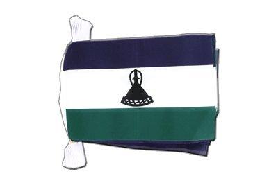 MaxFlags® guirlande de drapeaux Lesotho Nouveau 15x22cm