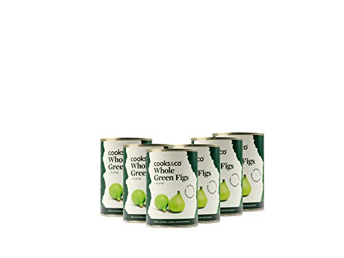 Cooks & Co Green Figs in Syrup 410g (Pack of 3)