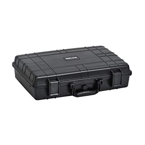 MEIJIA Portable Waterproof Hard Camera Case,Memory Foam Inserted, Elegant Black,Fit...