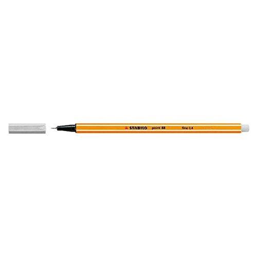 "TEXTIMO Fineliner Pen""Stabilo"" Point 88""Fineliner / 0.4 Mm Grey"