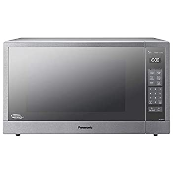 Panasonic Microwave Oven Stainless Steel Countertop/Built-In Cyclonic Wave with Inverter Technology and Genius Sensor 2.2 Cu Ft 1250W NN-SN97JS  Silver