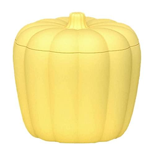 Sanfiyya Cubo de Hielo Cubo de Hielo del silicón del Fabricante del Fabricante de Hielo del Cubo con Tapa de 60 Cubos Enfriador de Bebidas en Botella de Cerveza de Whisky de Vino Amarillo