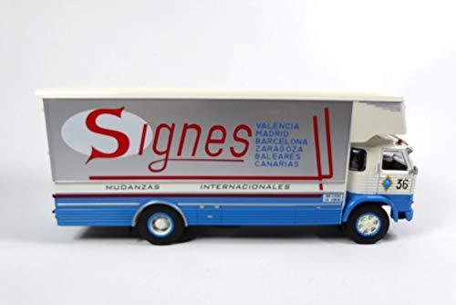 OPO 10 - Camión de Transporte Internacional SIGNES: Pegaso 1065 Europa 1970 1/43 (LW20)