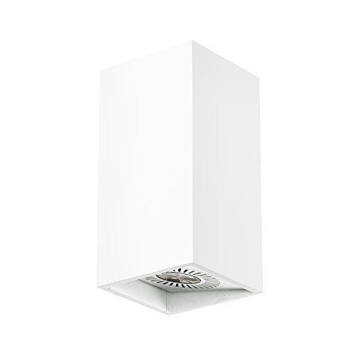 Osram LED-Wandleuchte, Tresol, weiß, Innenleuchte, horizontale und vertikale Montage, LED-Spots 60° schwenkbar, 4,5 Watt, Warmweiß-3000K