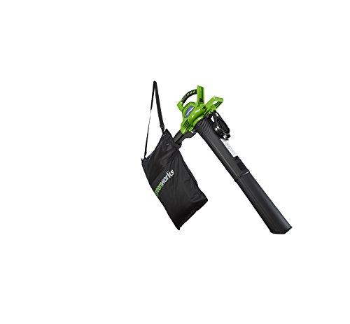 Greenworks Tools bladblazer en zuiger. Alleen gereedschap (zonder accu en oplader).