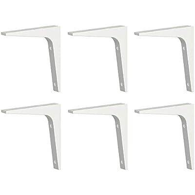 Ikea EKBY STODIS black Bracket 17x17 cm