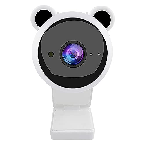 Cámara Web HD 1080P Ajustable Mini cámara Web USB Linda con micrófono Cámara Web para computadora para transmisión en Vivo Videollamadas Trabajo en conferencias