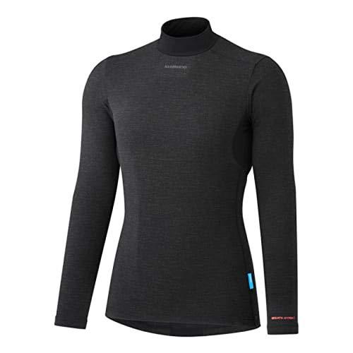 SHIMANO Camiseta Interior SH W Transpir Neg W.S, Mujer, Negro, S