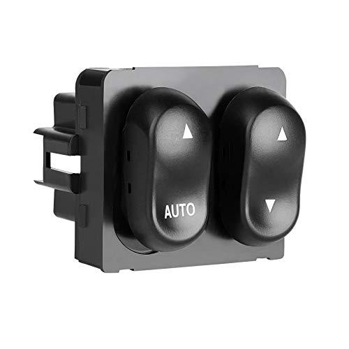 Power Master Window Switch XL3Z14529AA - Compatible with Ford 1999-2002 F150 F250 F350 Lobo Pickup Cab - Window Lock, AUTO Down Control