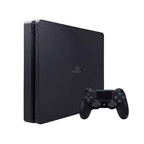 Sony PlayStation 4 Slim Gaming Console with DualShock 4 Wireless Controller, 2TB Hard Drive, Black