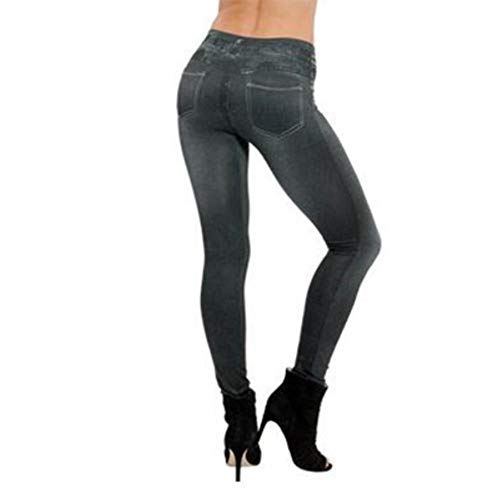 Femmes Filles Jegging Extensible Coupe Skinny Taille Haute Noir Marine or