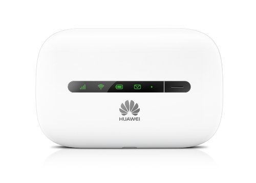 HUAWEI E5330 3G Mobile Hotspot /Portable 3G WiFi Router, Downstream 21.6Mbit/s, 10 Clienti, 5 Secondi di Boot Rapido, colore: Bianco [Regno Unito]