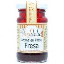 Fresa Aroma EN Pasta CHEFDELICE 50G
