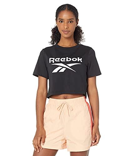 Reebok Training Essentials Graphic Crop Top, Black, XS