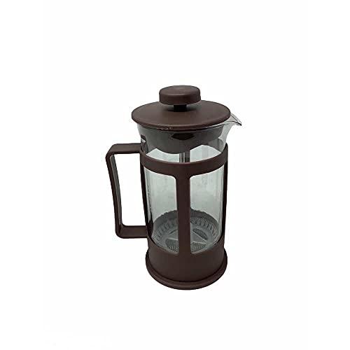 Vetrineinrete® Cappuccinatore montalatte Manuale in Vetro 300 ml Macchina per Cappuccino Schiuma caffè Latte B1
