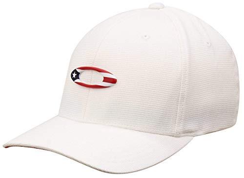 Oakley Tincan Puerto Rico Flag Hat - White