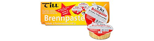Till Sicherheits Brennpaste Set 3x á 80g