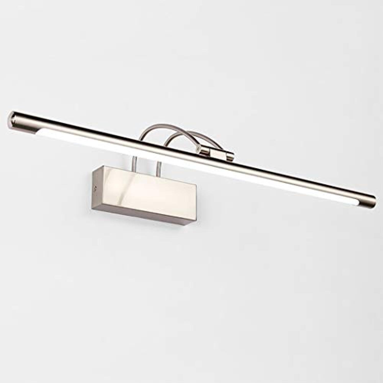 Moderne LED-Wandleuchte über Spiegel, die 23,6 '' LED 14W Badezimmer-Licht-Kosmetikspiegel beleuchtet, mit 180 ° drehbarem Schwenkarm, kühlem Licht