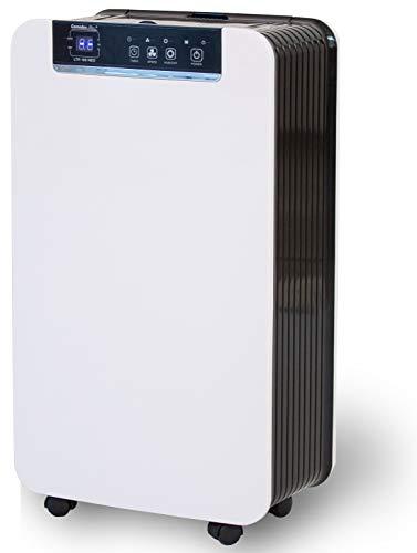 Comedes LTR 100 NEO - Moderner Luftentfeuchter, bis zu 12l /Tag, Raumgröße bis 50m²/115m³