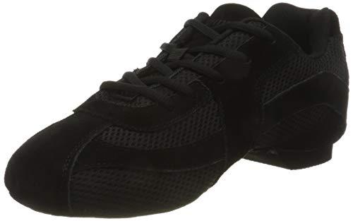 Rumpf Sparrow scarpe da ginnastic, da Danza, nero, Nero (nero), 44.5