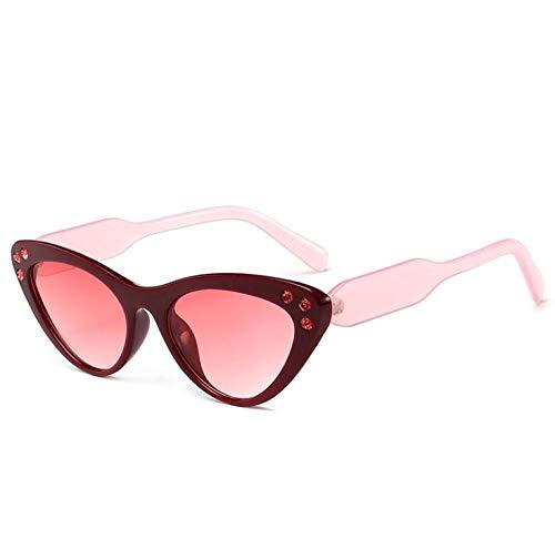ZZZXX Gafas De Sol Hombre PolarizadasTaladro Ojo De Gato Gafas De Sol Hd Antireflectantes Para Hombre Y Mujer,Con Caja De Regalo Y Paño Para Vasos