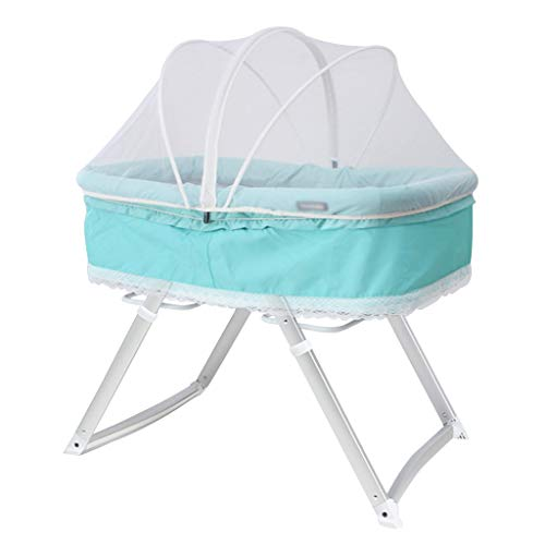 Best Prices! Baby cradle Rocking Chair Portable Bed Newborn Multi-Function Appease Cradle Foldaway R...