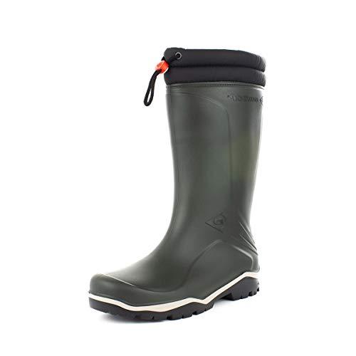 Dunlop Wellington - Botas de Agua para Hombre, Color Verde, Color Verde, Talla 43 EU