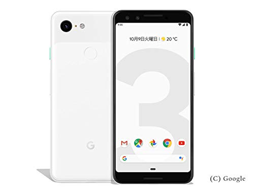 Google Pixel 3 64GB クリアリー ホワイト