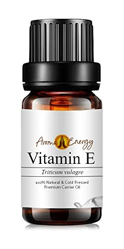 Aroma Energy Vitamin E Oil (50ml) - Base/Carrier Oil, Pure & Natural, Perfect for Massage & diluting Essential Oils