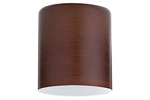 Paulmann Lampenschirm, Verschiedene Materialien, Braun