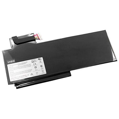 vhbw Akku Ersatz für MSI BTY-L76 für Notebook (5400mAh, 11,4V, Li-Polymer)