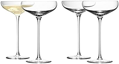 Best large champagne saucer Reviews
