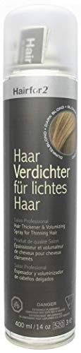 Hairfor2 Haarverdichtungsspray gegen lichtes Haar (400ml, Dunkelblond)