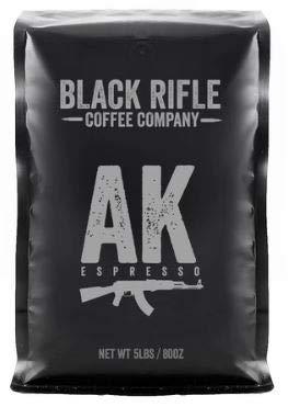 Black Rifle Coffee Company 5 Pound Bag of Black Rifle Ground Coffee (AK-47)